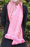 single thickness scarf