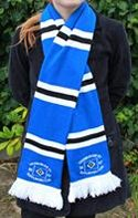 Image 3 of custom designed football scarf manufactured by Teritex